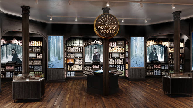 Harry Potter store in New York unveils first look photos (3)