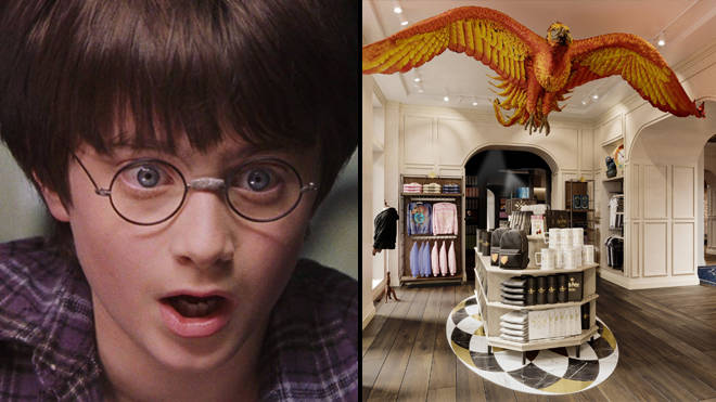 Harry Potter unveils first look at flagship store in New York