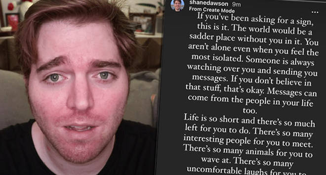 Shane Dawson returns to Instagram