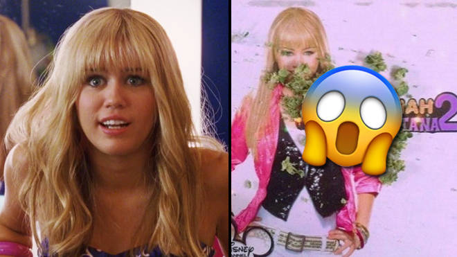 Hannah Montana celebrates 4/20 with weed photos on her official Instagram