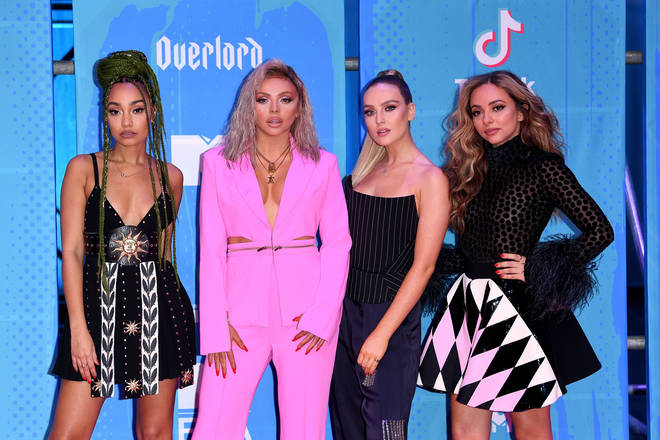 Leigh-Anne Pinnock, Jesy Nelson, Perrie Edwards and Jade Thirlwall MTV EMAs 2018