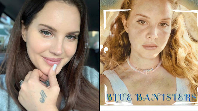 Lana Del Rey Blue Banisters album art
