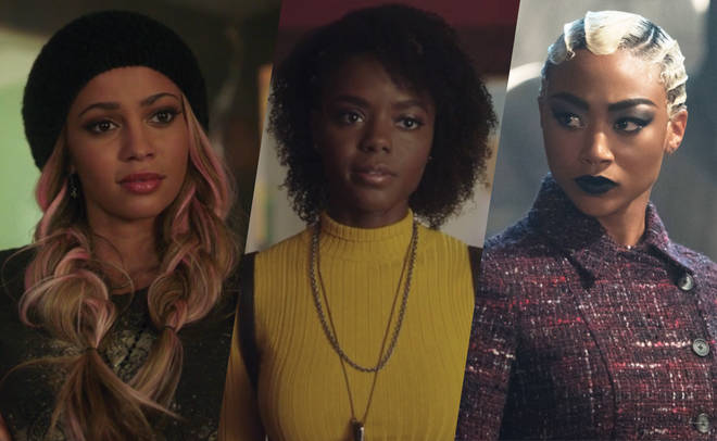 Toni Topaz, Josie Mccoy, Prudence Night women of colour