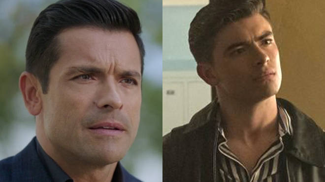 Michael Consuelos as young Hiram Lodge in Riverdale's flashback episode