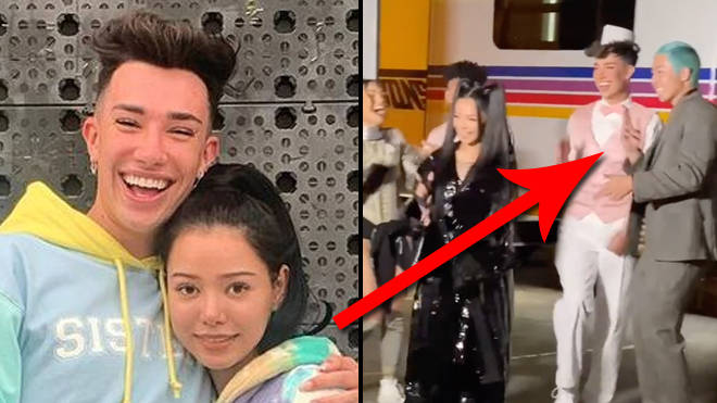 Bella Poarch cut James Charles from her Build a Bitch video