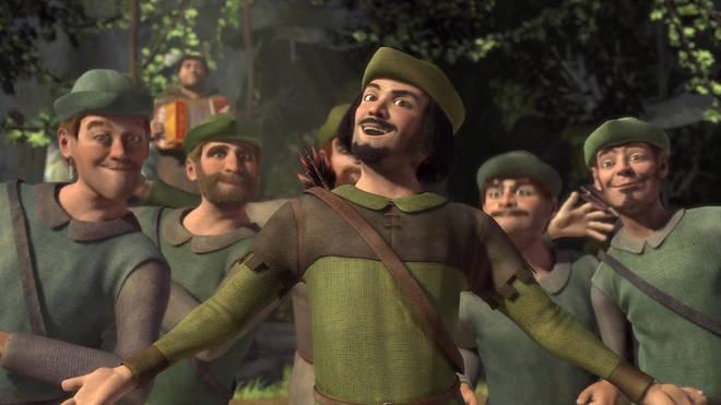 Monsieur Hood and his Merry Men from Shrek