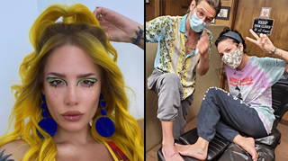 Halsey reveals how she met her boyfriend and baby daddy Alev Aydin