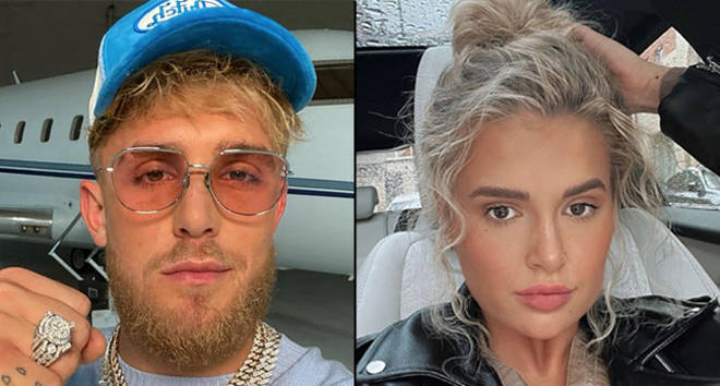 """Jake Paul posts """"fake"""" DM from Love Island&squot;s Molly-Mae"""