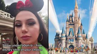 Viral TikTok reveals 'free t-shirt hack' at Disney World