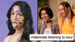 Olivia Rodrigo Sour memes are roasting millennials