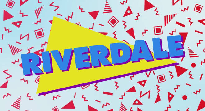 Riverdale 90s title card