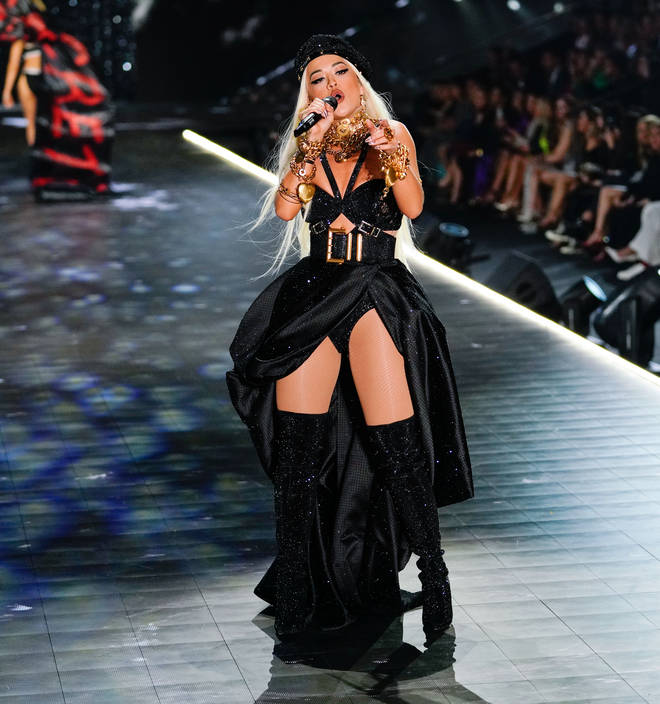 Rita Ora at 2018 Victoria's Secret Fashion Show