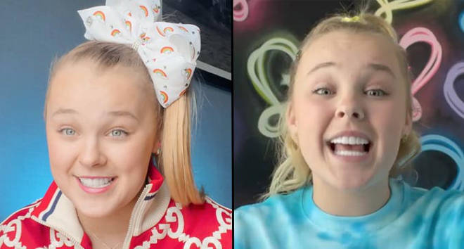JoJo Siwa gets kissing scene with a man removed from her upcoming movie.