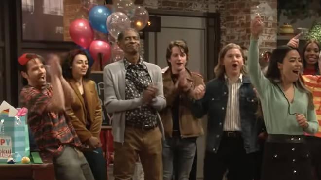 Tim Russ returns as Principal Franklin in the iCarly reboot