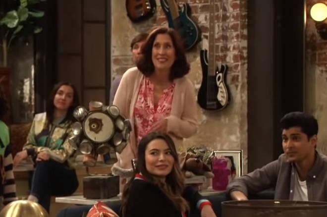 Mary Scheer returns as Marissa Benson in iCarly reboot