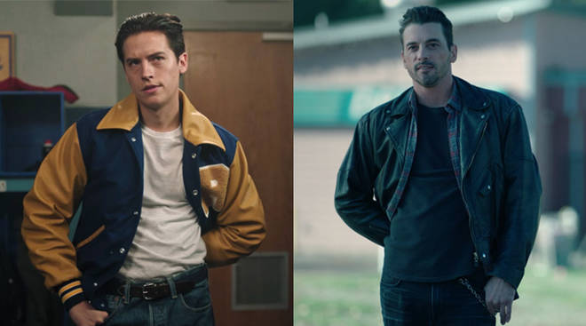 Cole Sprouse and Skeet Ulrich as FP Jones