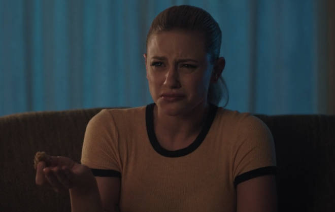 Lili Reinhart as Betty Cooper in Riverdale's 'The Midnight Club'