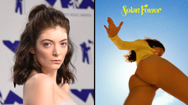 Lorde fans are being suspended for sharing her Solar Power art on social media