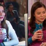 "Miranda Cosgrove recreates iconic ""interesting"" meme in iCarly reboot"
