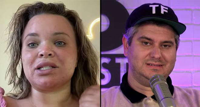 Trisha Paytas apologises for making an offensive comment about Jewish people to Ethan Klein