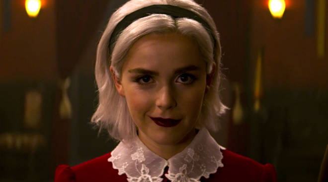 Image result for chilling adventures of sabrina christmas gif
