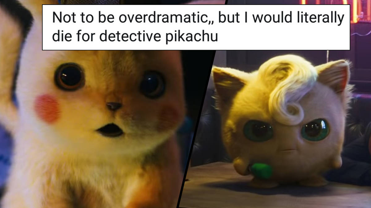 The Internet Has Already Turned Detective Pikachu Into A Meme And It S Perfect Popbuzz