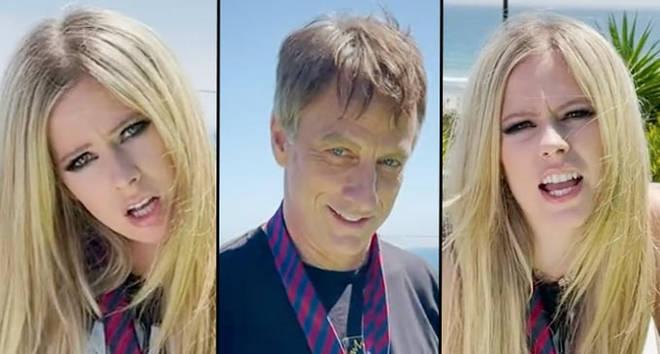Avril Lavigne joins TikTok with iconic Tony Hawk Sk8er Boi video