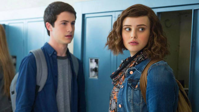 Hannah Baker & Clay Jensen from 13 Reasons Why