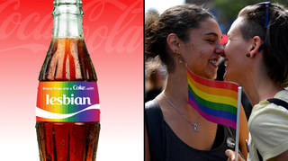 """Coca-Cola banned the word """"lesbian"""" on their customisable Pride bottles"""