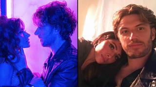 Sarah Shahi and Adam Demos are actually dating IRL