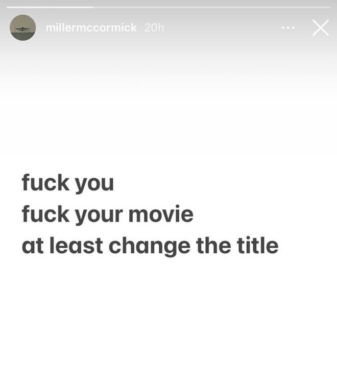 Miller McCormick Instagram Stories