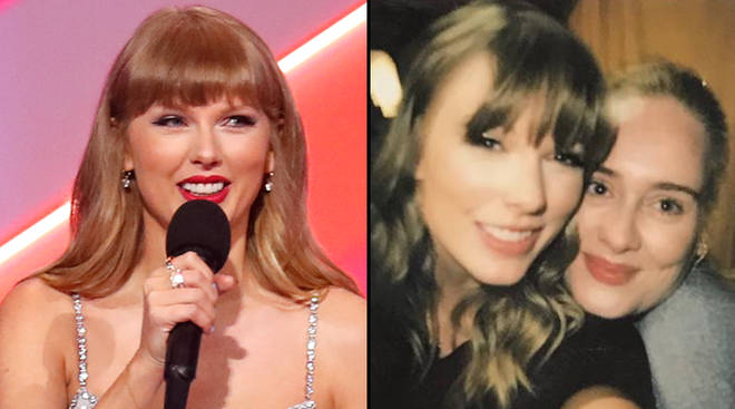Is Taylor Swift releasing a song with Adele?