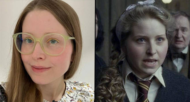 Jessie Cave played Lavender Brown in three Harry Potter movies