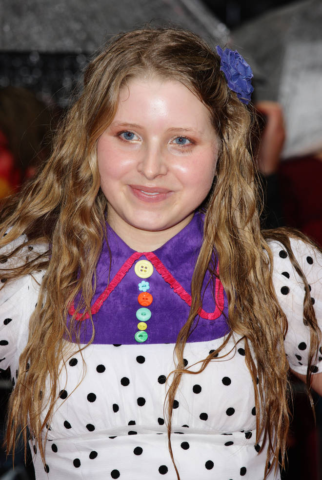 Jessie Cave attends the UK Premiere of Harry Potter and the Half-Blood Prince