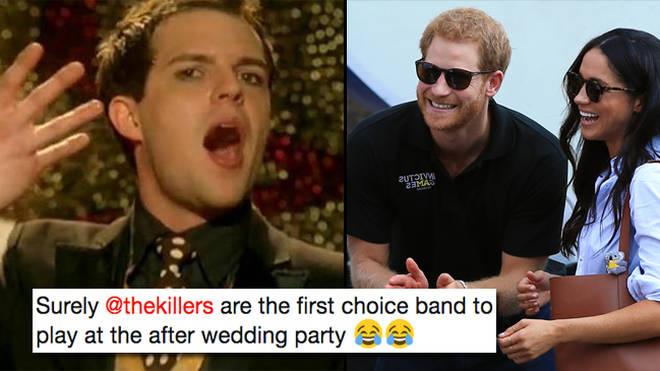 The Killers, Prince Harry, Meghan Markle