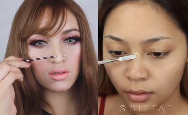 DIY wax nose jobs Instagram viral trend
