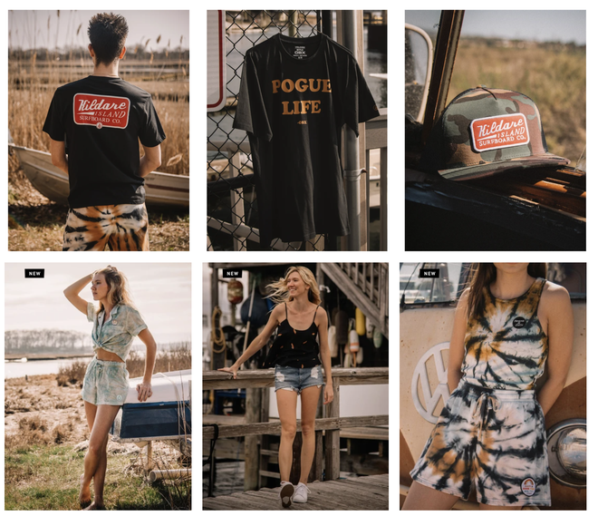 Volcom X Outer Banks collection features Pogue Life t-shirts
