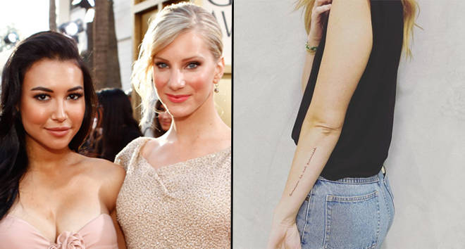 Heather Morris and Kevin McHale get touching tribute tattoos to mark one-year since Naya Rivera passed