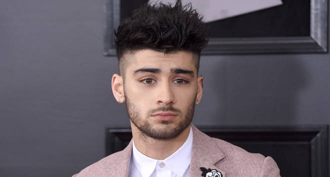 Zayn Malik attends the 60th Annual GRAMMY Awards