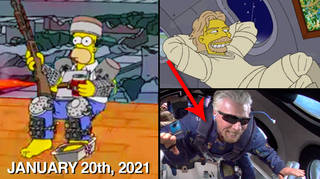 Simpsons Predictions 2021: Everything that's happened so far