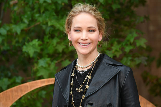Jennifer Lawrence attends the Christian Dior Womenswear Spring/Summer 2020 show