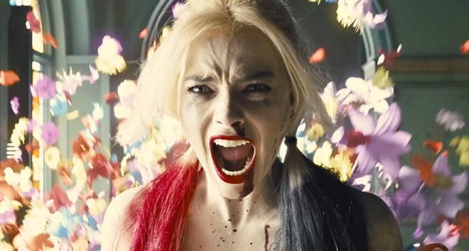 Margot Robbie plays Harley Quinn