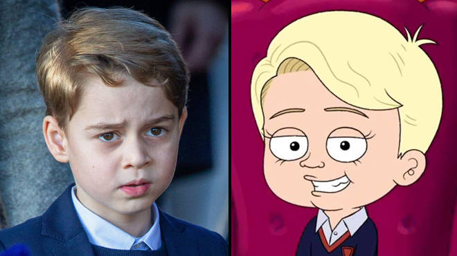 HBO Max called out for mocking eight-year-old Prince George in The Prince