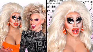 Trixie and Katya vs. The Most Impossible Trixie and Katya Quiz | PopBuzz Meets