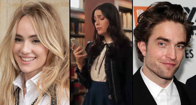 Suki Waterhouse slams Gossip Girl reboot for sexist line about her relationship with Robert Pattinson.