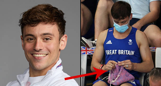 Tom Daley finally reveals what he was knitting after Olympics photos go viral
