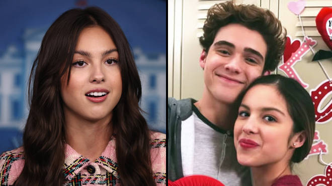 """Olivia Rodrigo says it's """"really hard"""" watching people dissect her 17-year-old love life"""