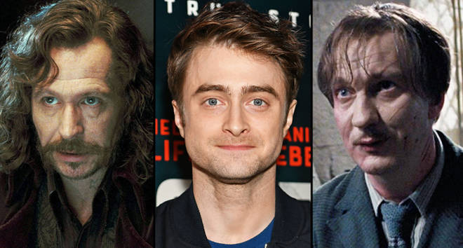 Daniel Radcliffe would like to play Sirius Black or Remus Lupin i