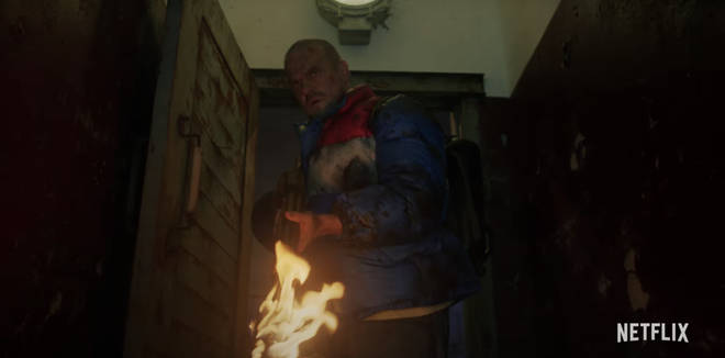 Hopper seems to escape from the Russian prison in Stranger Things 4