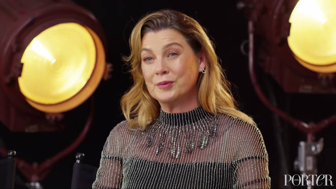 Ellen Pompeo at Net-a-porter roundtable